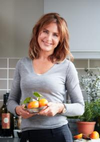 Maria Borelius in the kitchen